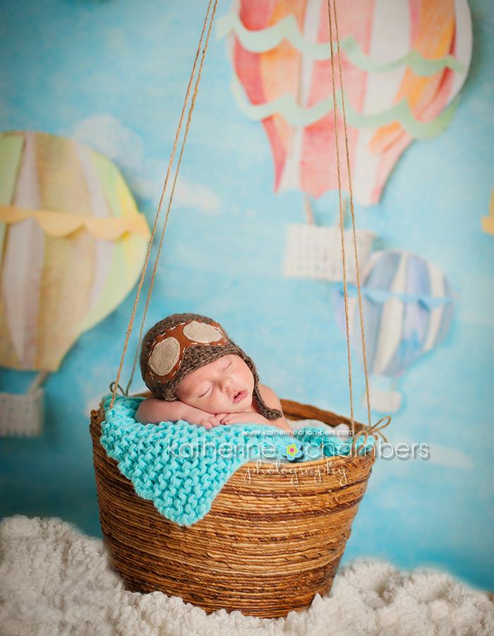 www.katherinechambers.com, Cleveland Newborn Photographer, Katherine Chambers Photography, Hot Air Balloon