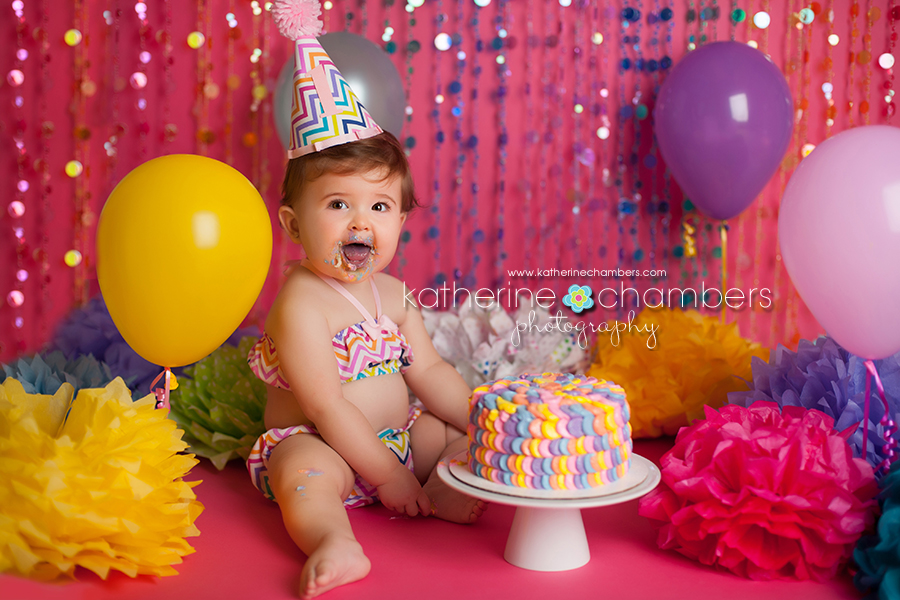 www.katherinechambers.com, Cleveland Baby Photography, Cleveland cake smash, Katherine Chambers Photography