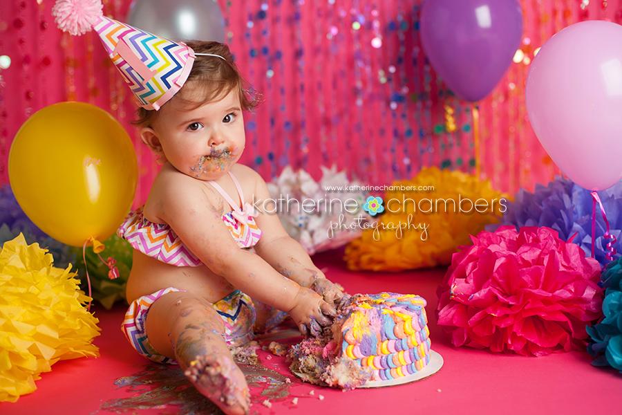 www.katherinechambers.com, Cleveland Baby Photography, Cleveland cake smash, Katherine Chambers Photography