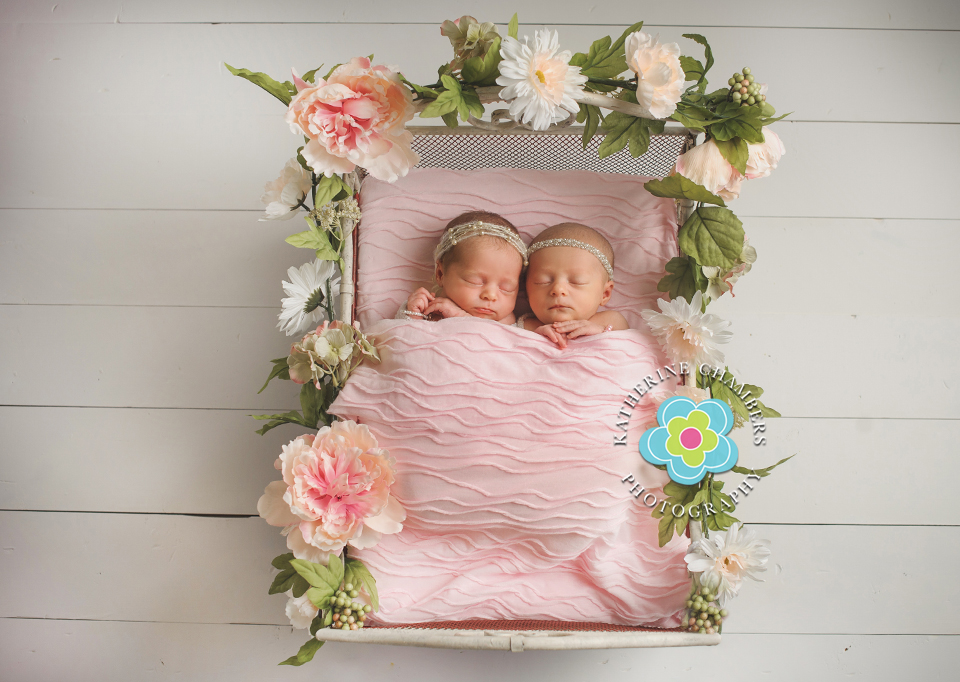 Flowers For Newborn Twins
