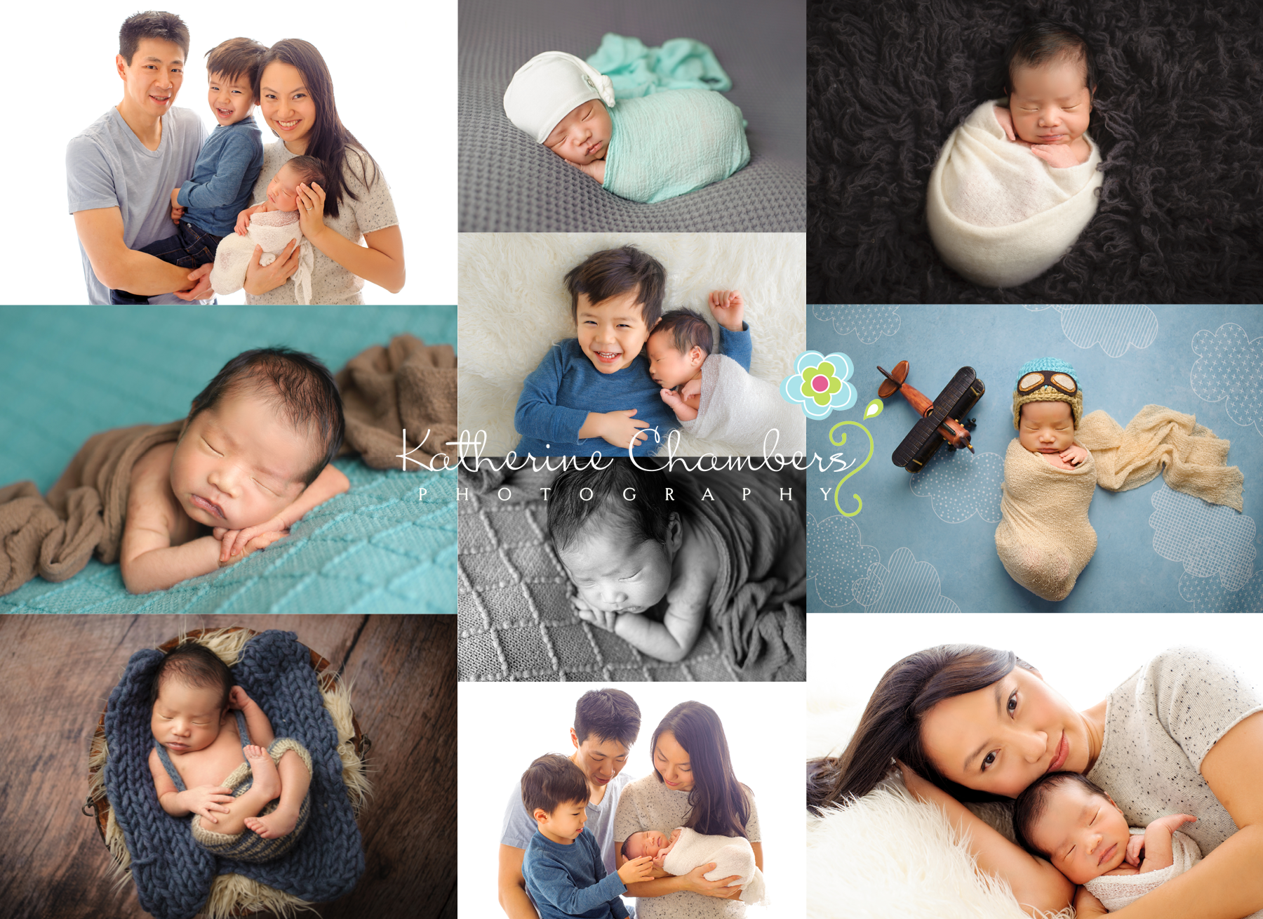 Newborn College_Katherine Chambers Photography