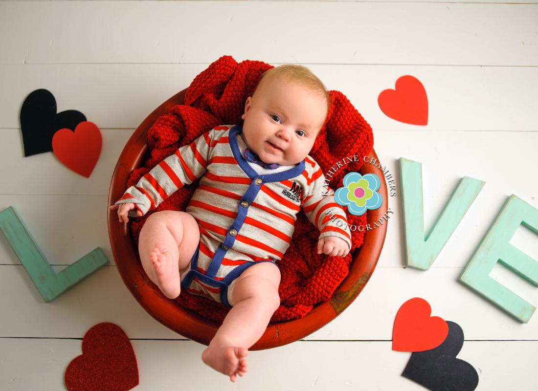 avon lake baby photographer tucker 3 month cleveland newborn
