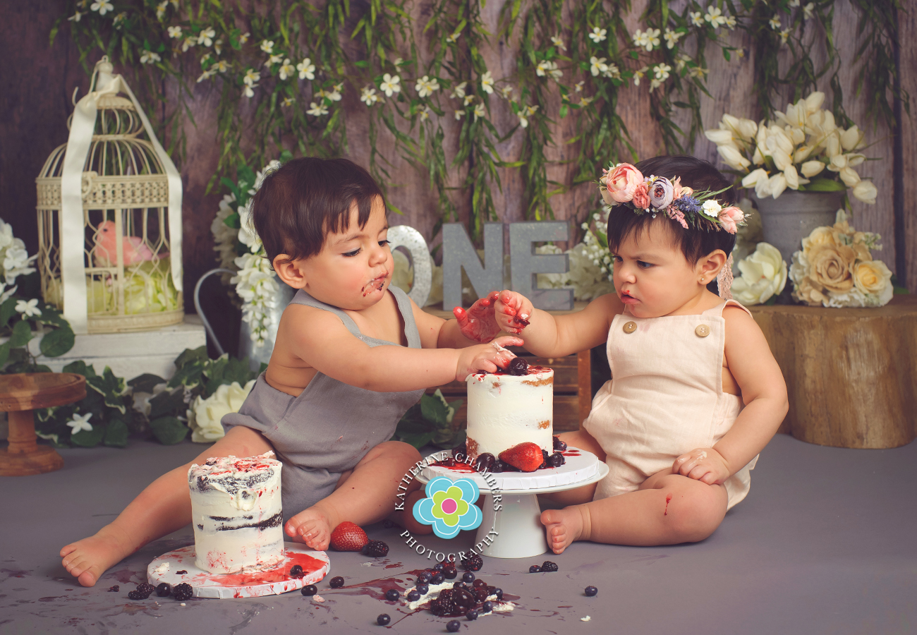 www.katherinechambers.com, Twins cake smash, twins newborn session, Cleveland twins, Cleveland Cake Smash, Avon Ohio Baby Photography, Katherine Chambers Photography (11)