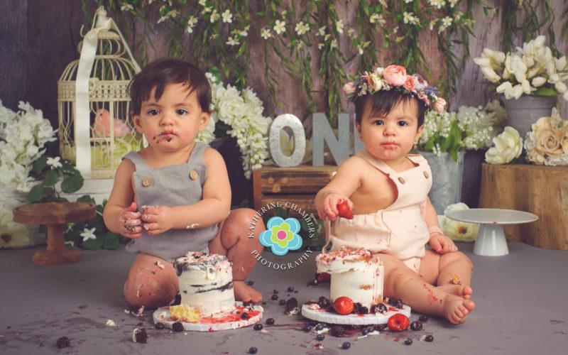 Twins Cake Smash, Cleveland twins cake smash