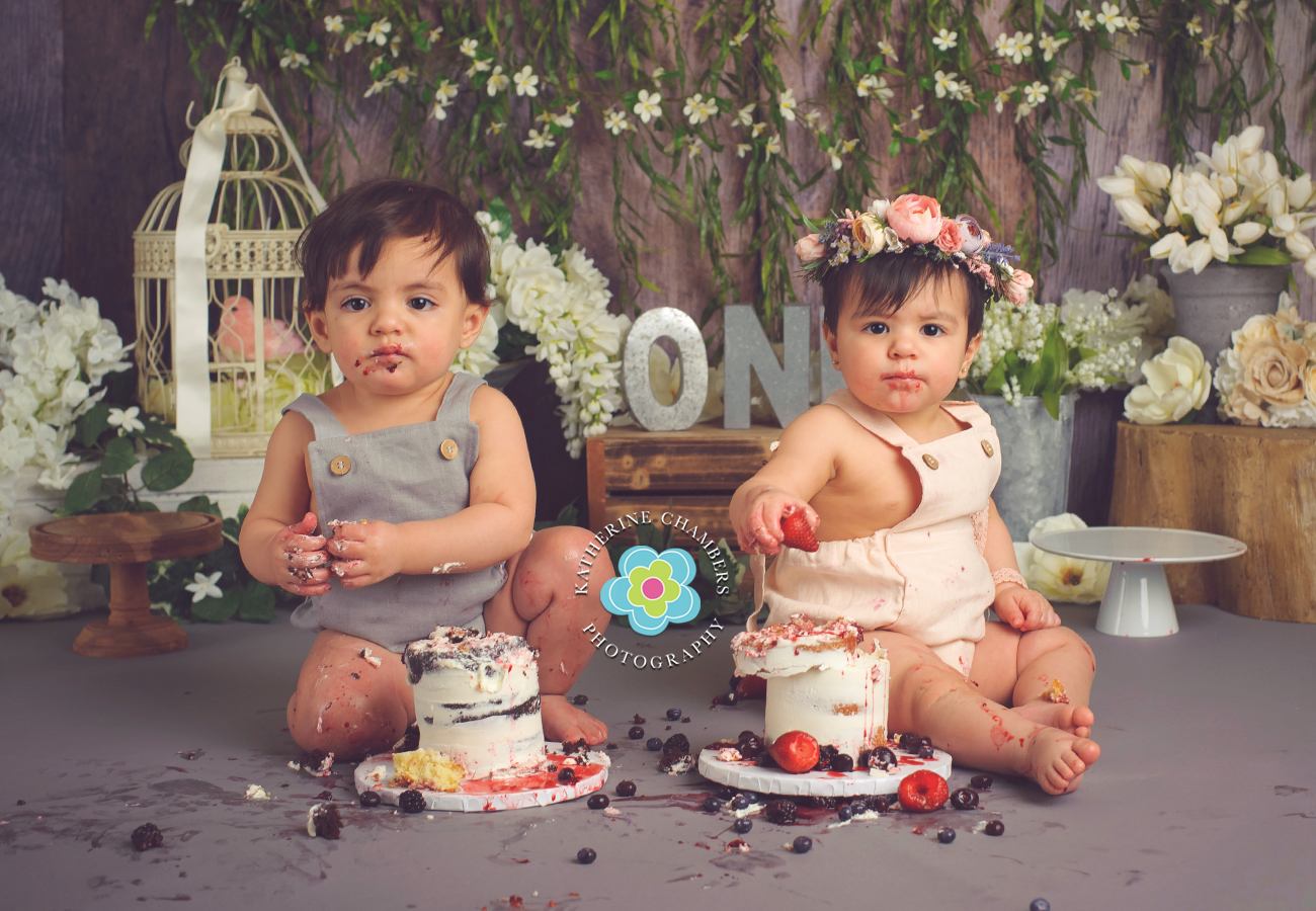 www.katherinechambers.com, Twins cake smash, twins newborn session, Cleveland twins, Cleveland Cake Smash, Avon Ohio Baby Photography, Katherine Chambers Photography (10)