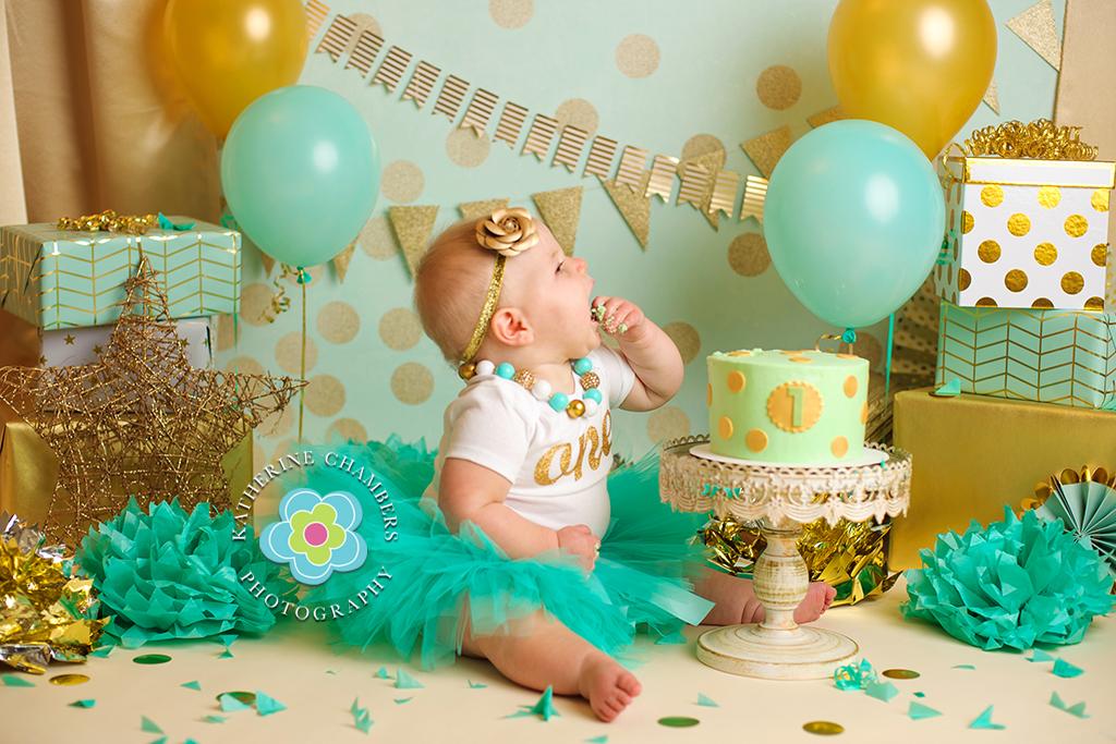 Cleveland Cake Smash Photography, www.katherinechambers.com (4)