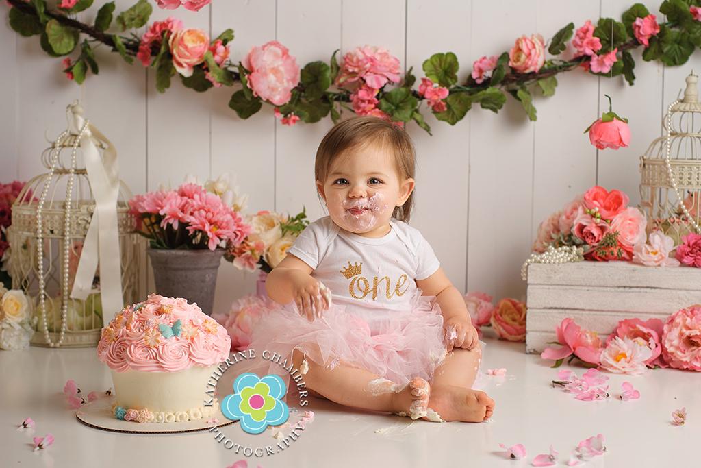 Photographer Westlake Ohio, Cake smash photographer, Katherine Chambers Photography (6)