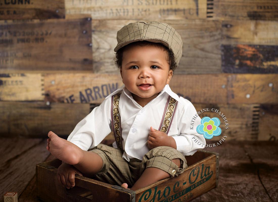 Shaker Heights Baby Photographer | One Year Session | Shaker Heights Baby Photos | www.katherinechambers.com