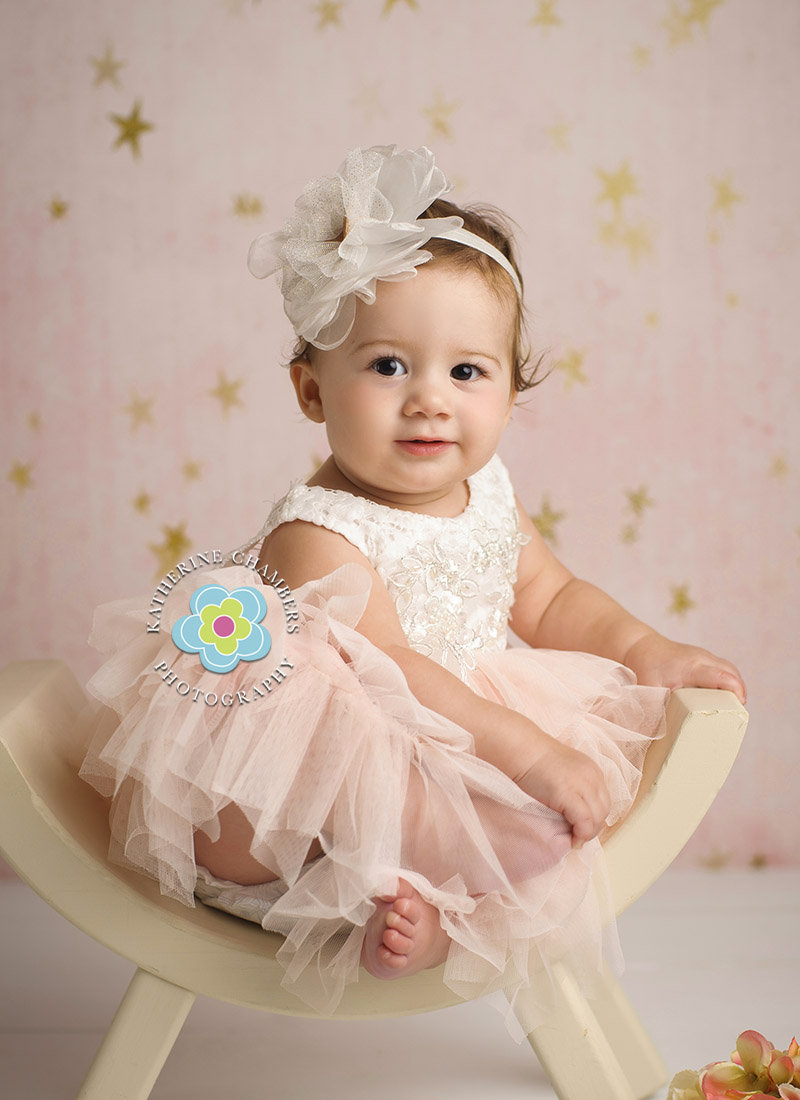 Pink and Gold, Avon Lake Baby Photographer, One Year Session, Baby's First Year Package (7)