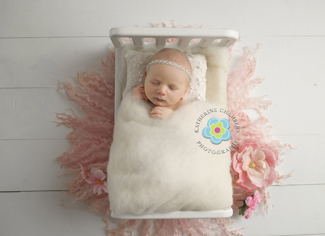 Newborn Bed Prop | Cleveland Newborn Photographer | Best Cleveland Newborn Photographer