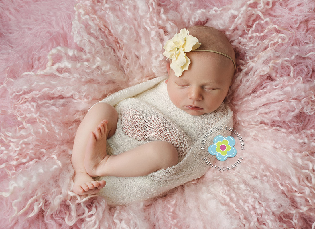 Macedonia Newborn Photography | Cleveland Newborn Photographer | Pretty in Pink Newborn