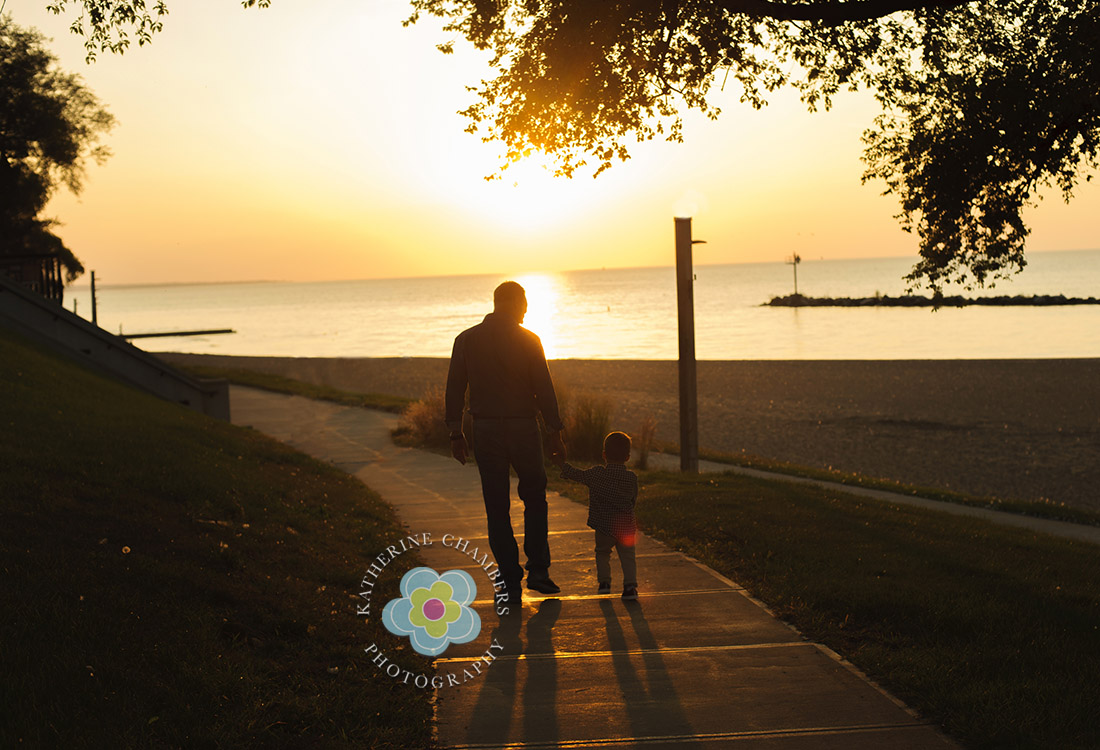 Silhouette Photograph | Rocky River Family Photography | Cleveland Family Photographer