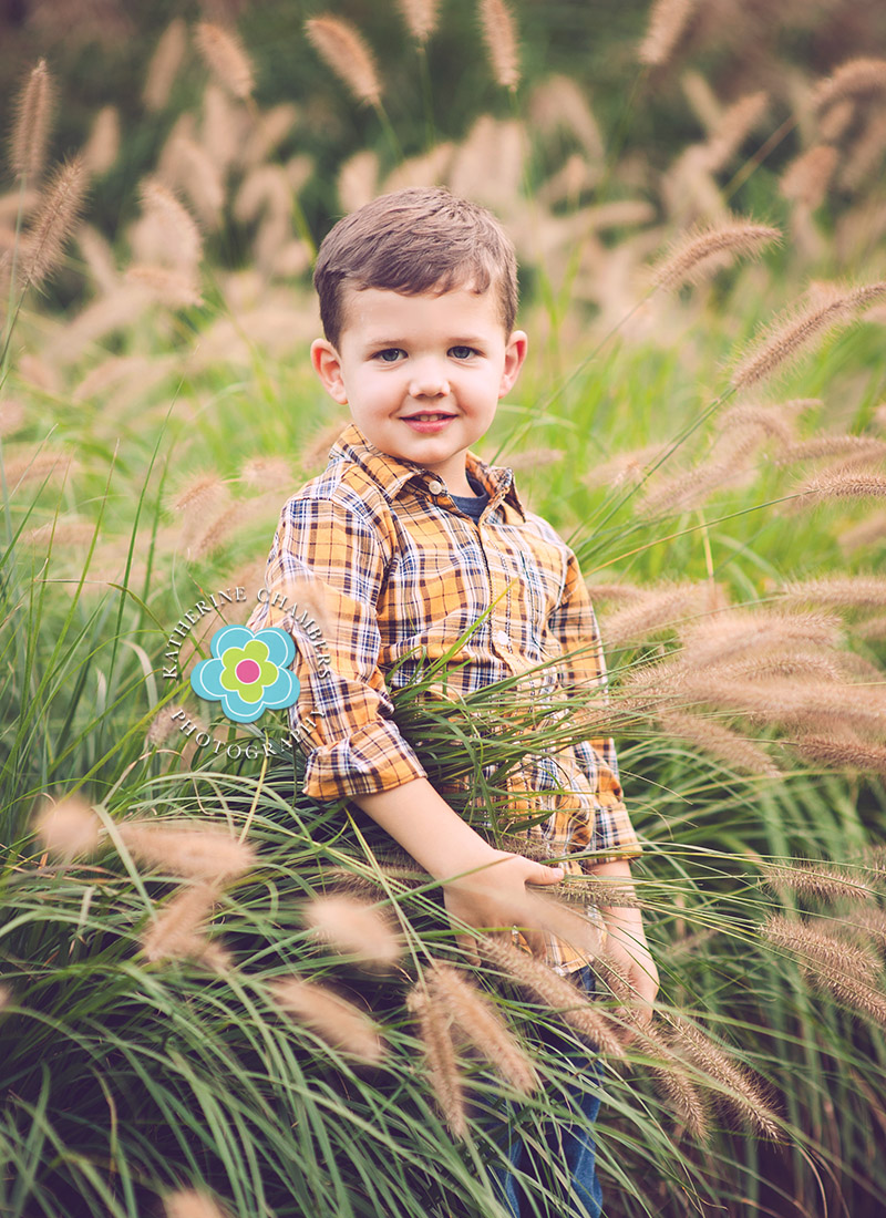 Fall Family Photos | Best Cleveland Family Photographer | Garden Photo Session