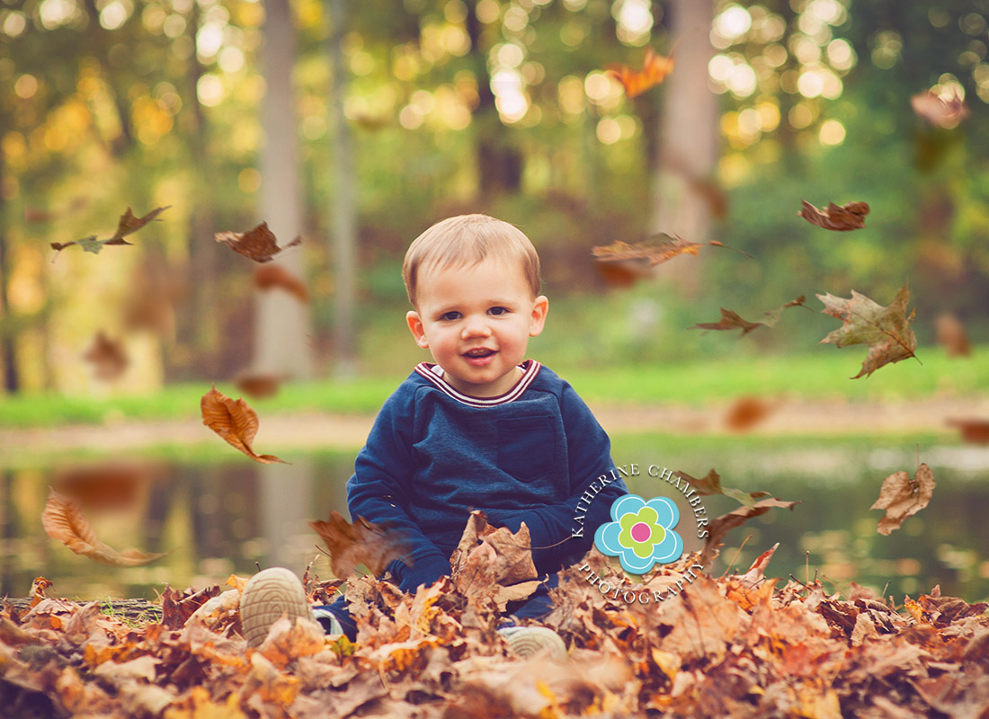 18 months old | Fall Family Photography | Cleveland Baby Photography