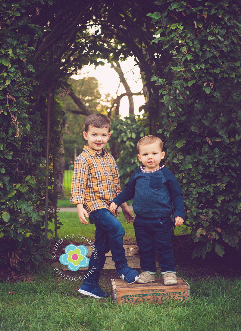 Brothers | Fall Family Photos | Cleveland Family Photography
