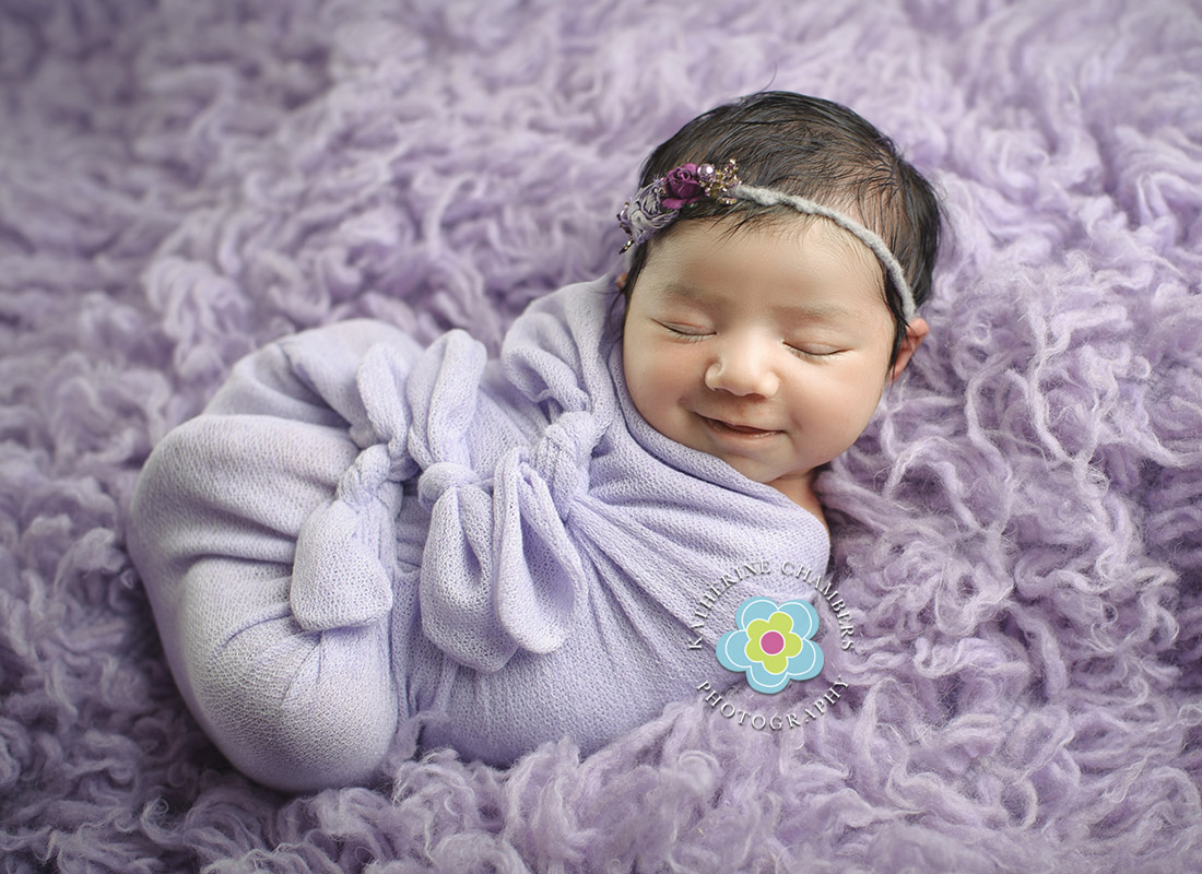 Newborn Smiles | Cleveland Newborn Photographer | Northeast Ohio Newborn Photographer