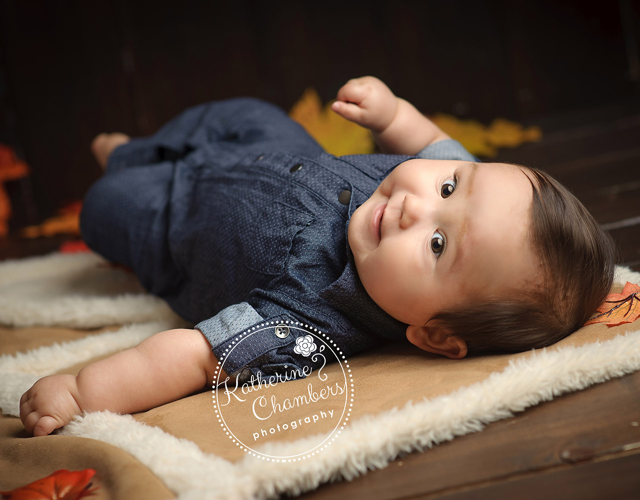 Baby's First Year, Cleveland photography studio, Studio Fall photos
