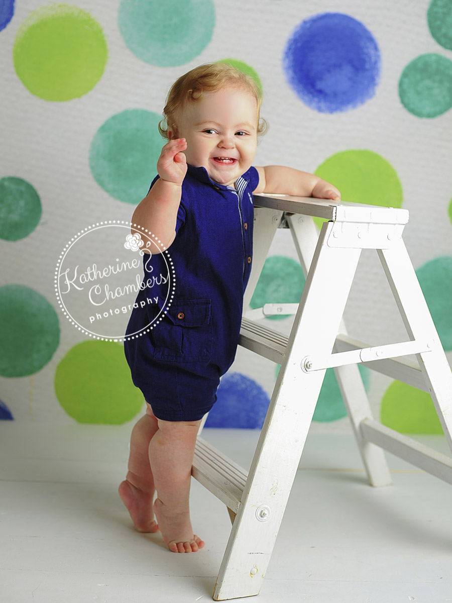 Cleveland photography studio, One Year Photos, Baby's First Year of Photography