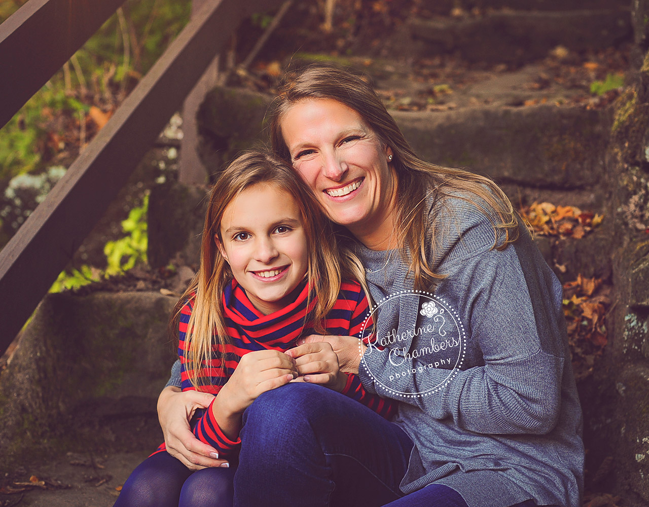 Mother Daughter Photo, Cleveland Family Photographer, Fall photos
