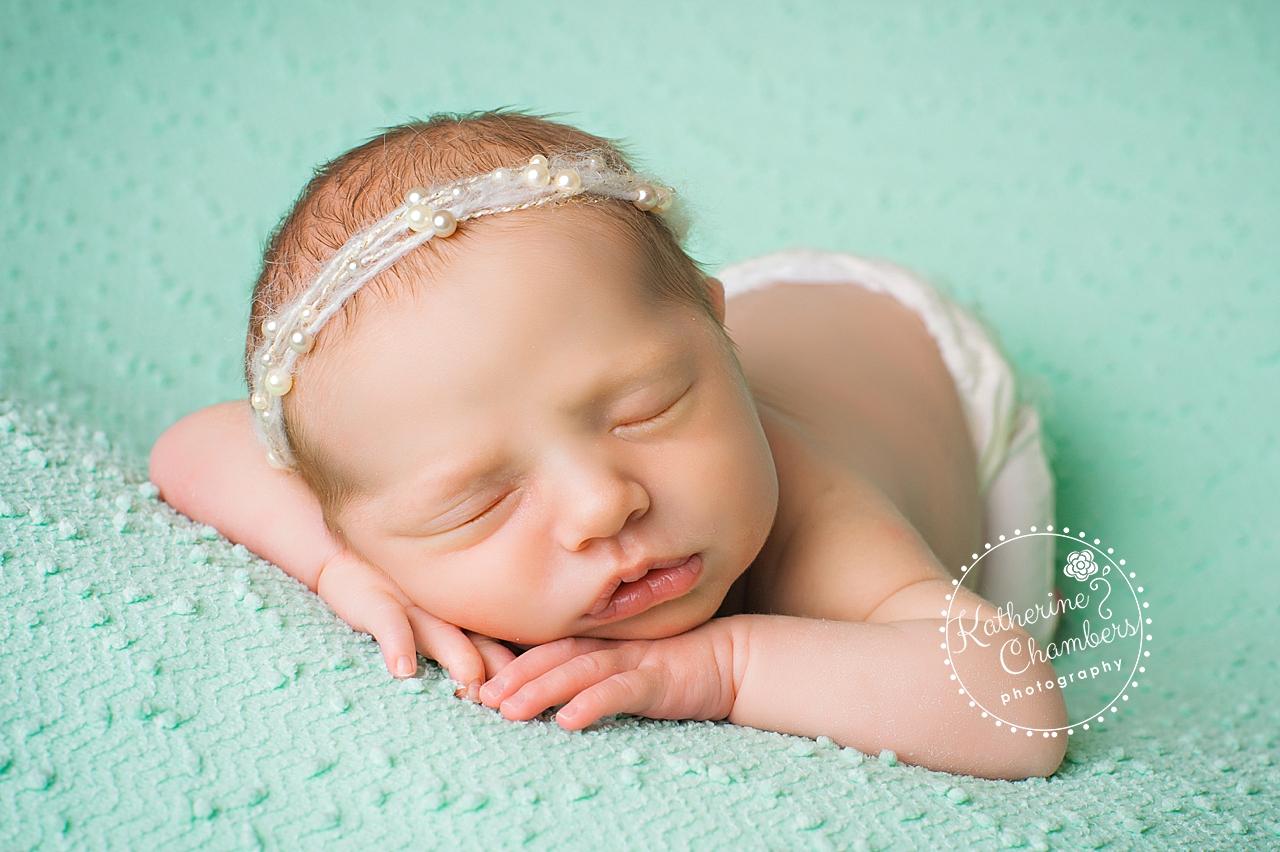 Newborn Baby Photography, Baby Girl