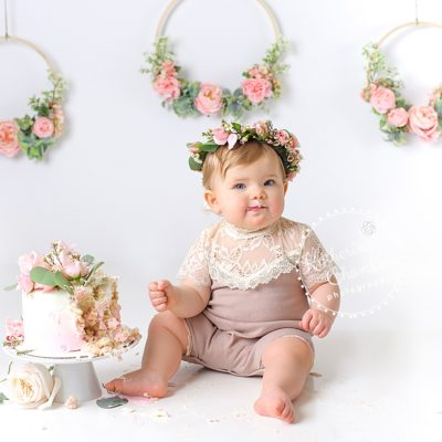 Avon Ohio Baby Photographer, Cleveland Cake Smash, Baby's First Year