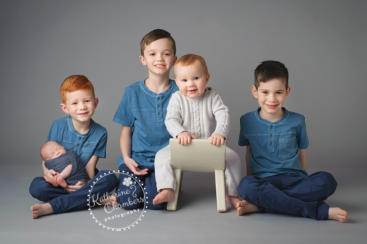 Best Akron Newborn Photographer, Cleveland Family Photographer, Family of 7