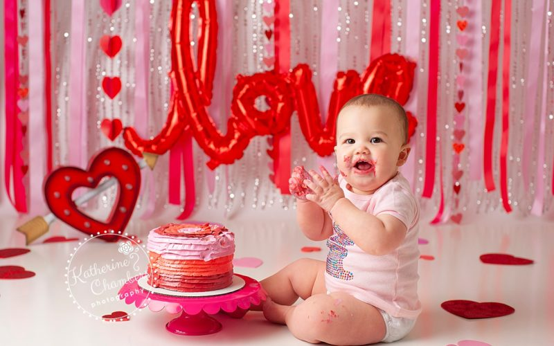 Cleveland Cake Smash Photography, Baby Photography, One Year Session