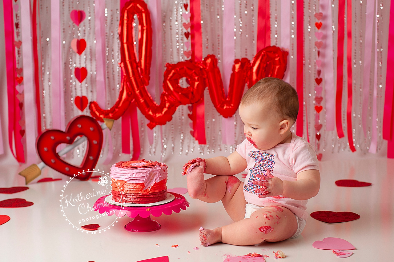 Cake Smash Baby Photography, Cleveland Photographer, Baby's First Year