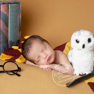 Harry Potter Newborn, Best Cleveland Newborn Photographer