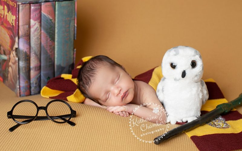 Harry Potter Newborn, Best Cleveland Newborn Photographer