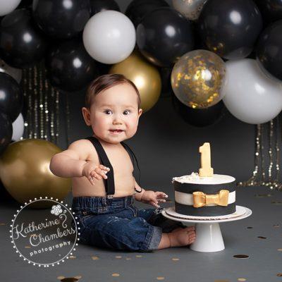 Cleveland Cake Smash Photographer | Baby Photography Cleveland