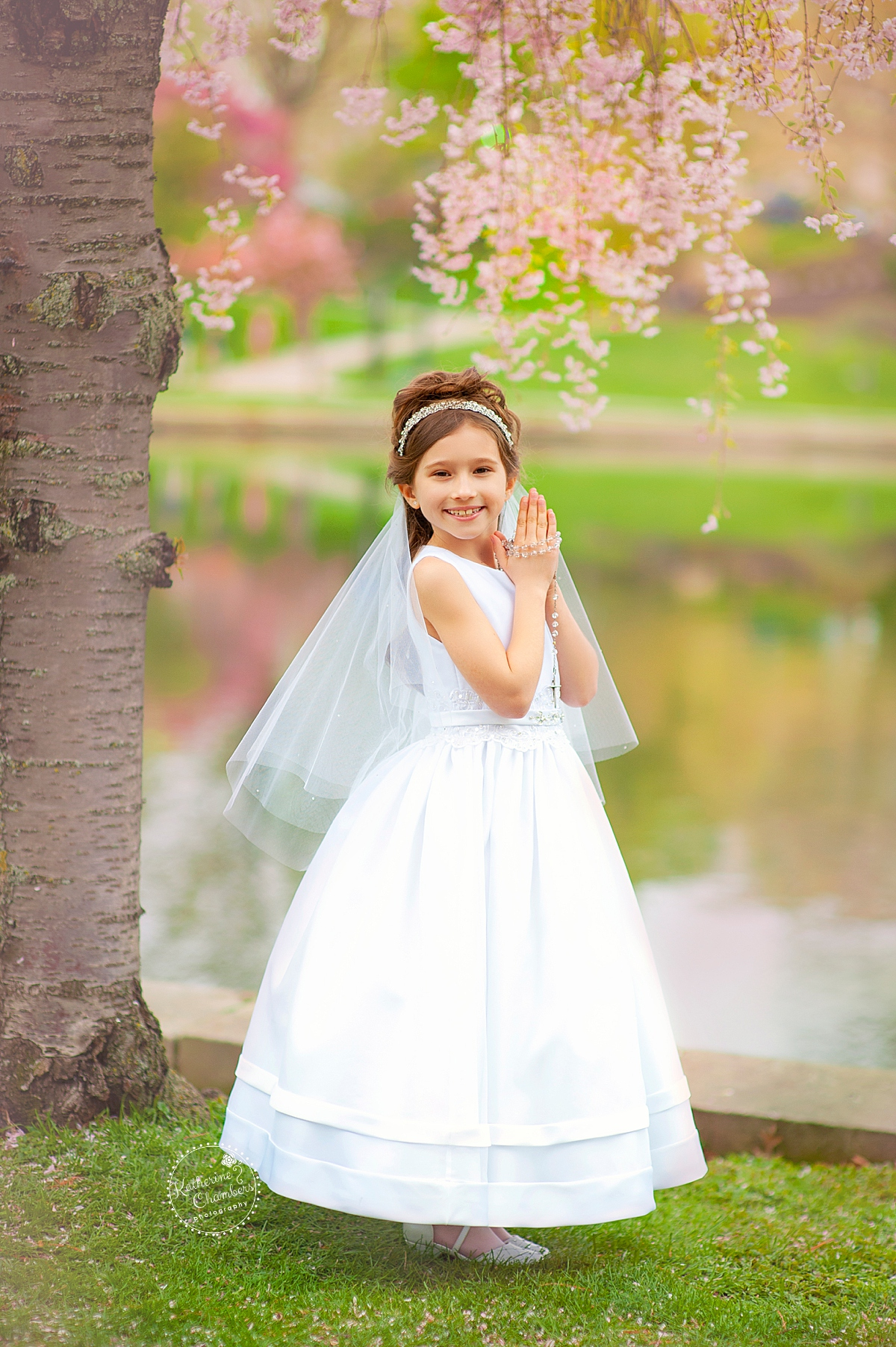 Spring Photo Session | Outdoor First Communion Photography