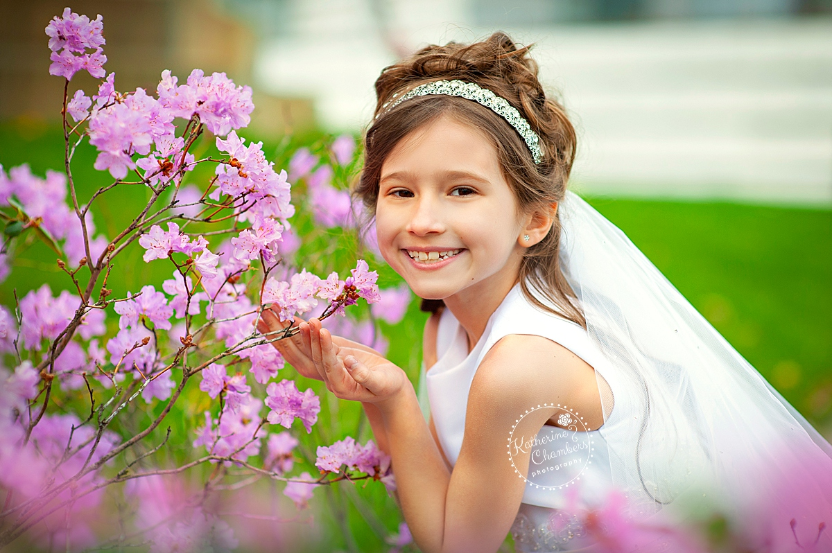 First Holy Communion Photos | Cleveland Child Photographer