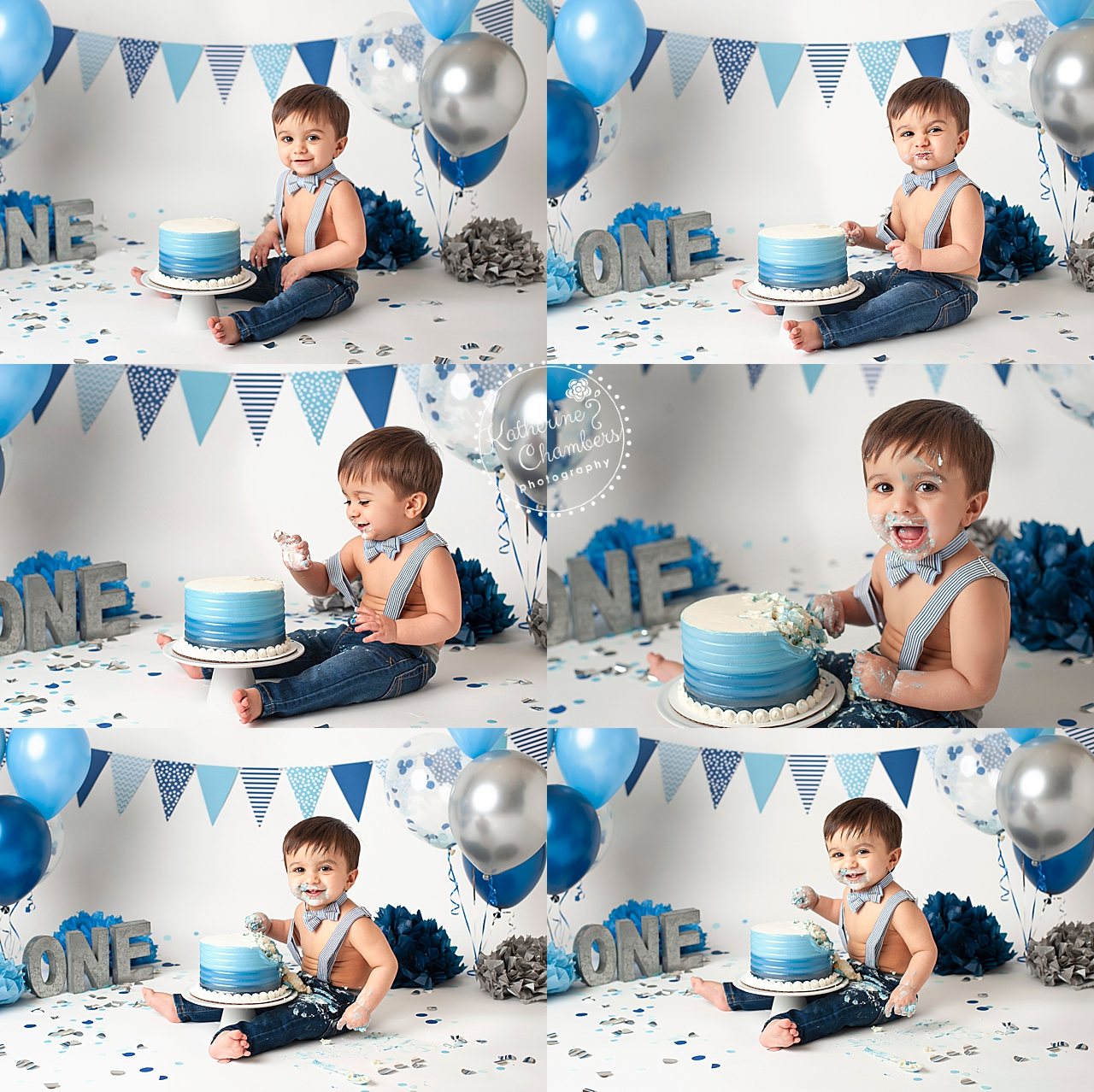Cleveland Cake Smash Photographer