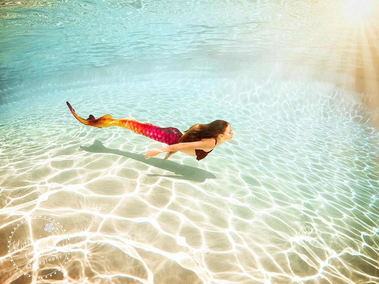 Cleveland Child Photographer | Mermaid Photo Session