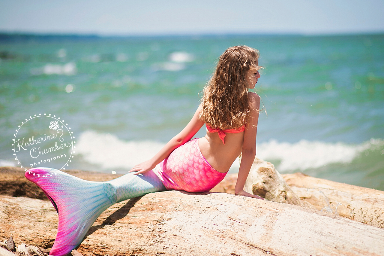 Mermaid Photo Session | Cleveland Child Photographer | Rocky River Park