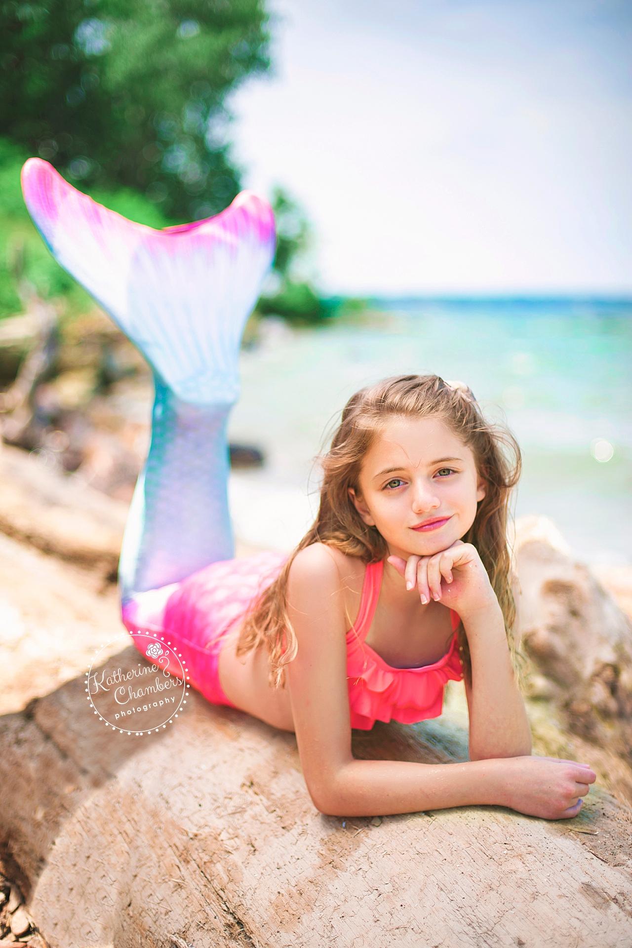 Mermaid Photoshoot | Rocky River Park Beach