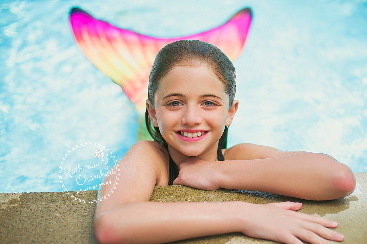Family Photographer Cleveland | Fin Fun Mermaid Tail