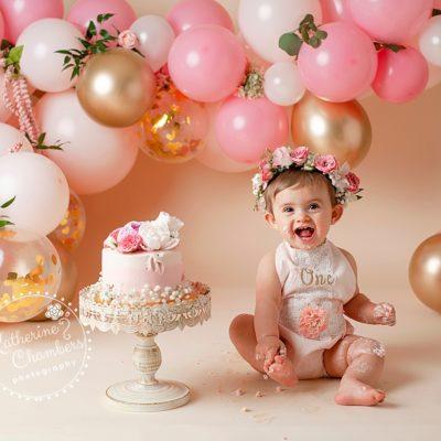 Westlake Baby Photography | Cake Smash | One Year Session