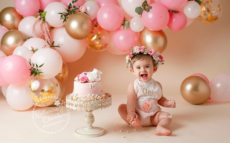 Westlake Baby Photography | Cake Smash | One Year Session