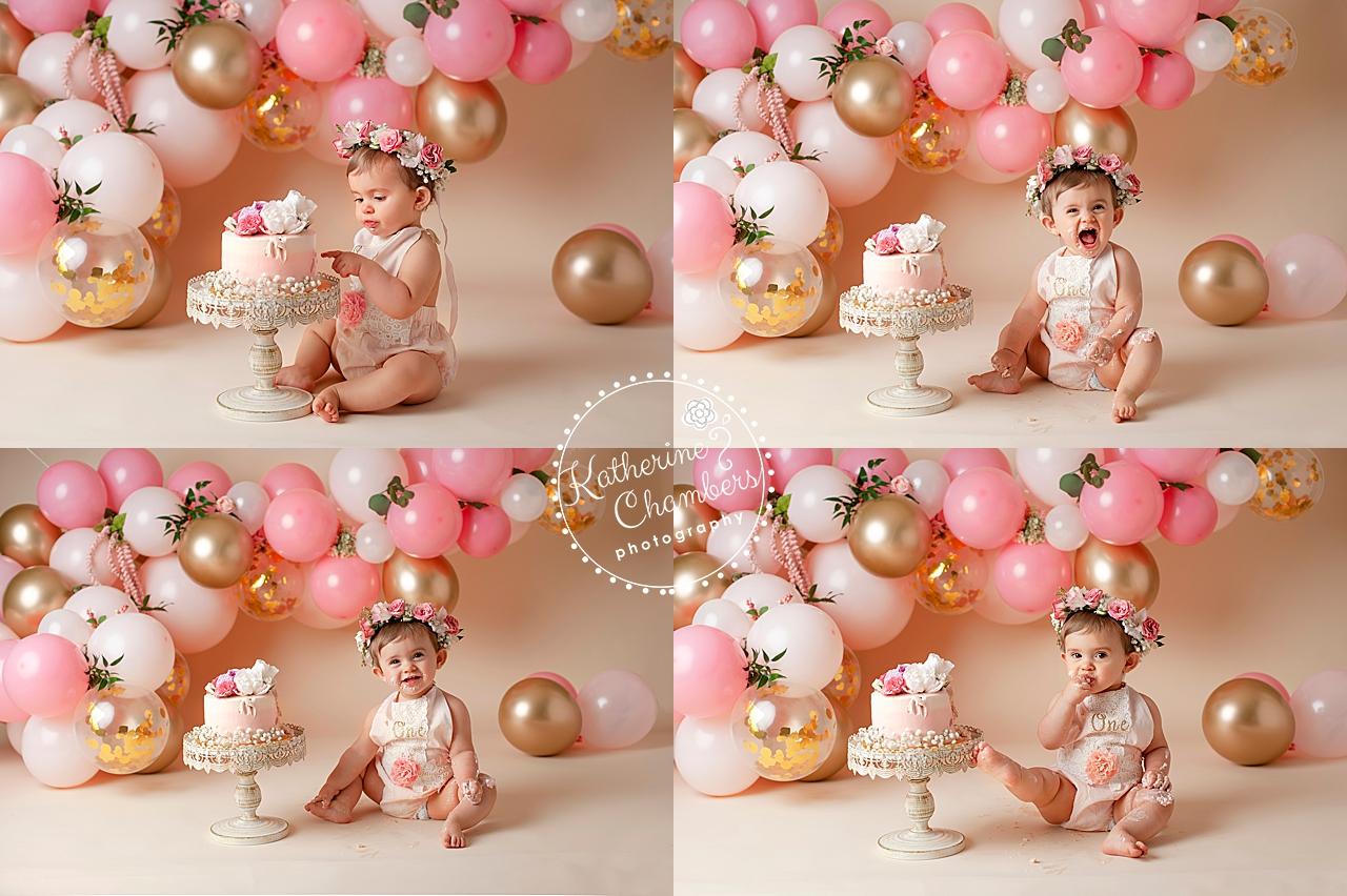 Cleveland Cake Smash Photographer | Baby Photography