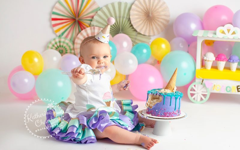 Ice Cream Cake Smash | Avon Cake Smash Photographer