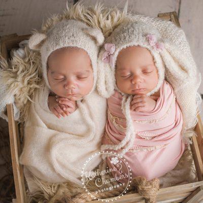 Cleveland Newborn Photographer | Twins Newborn Session
