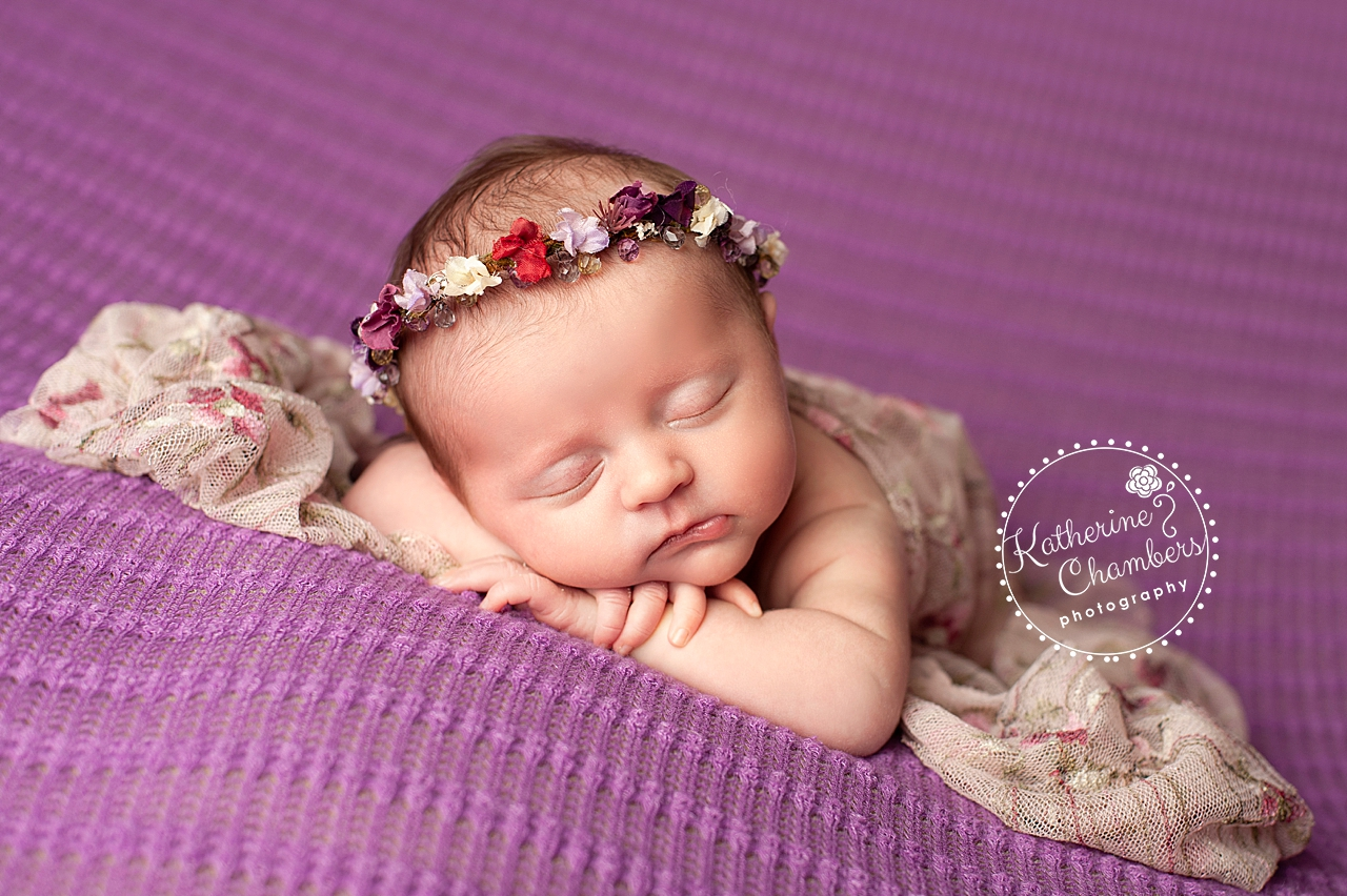 Violet Newborn | Best Newborn Poses