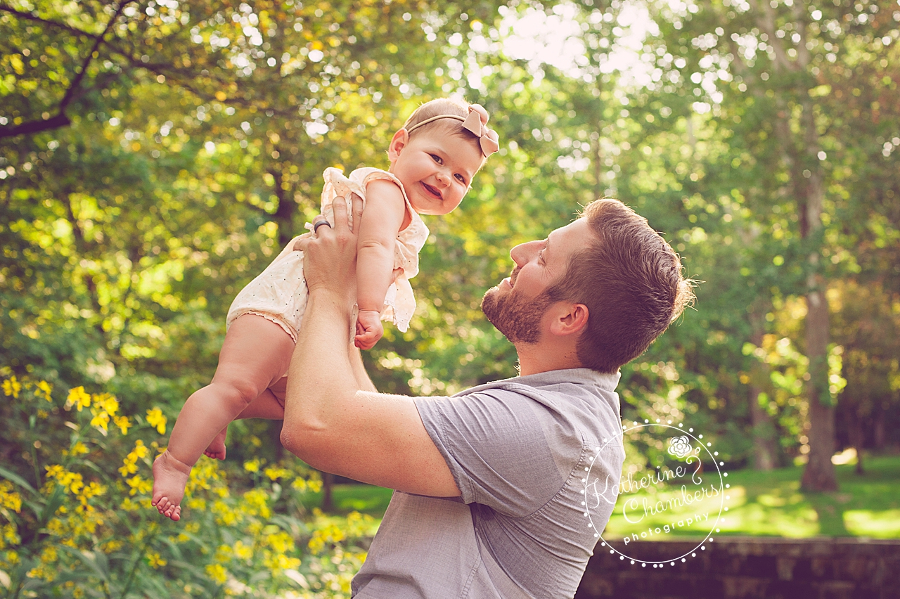 Daddy and Daughter Photo Session
