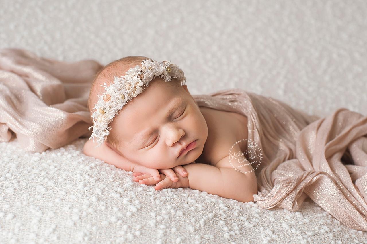 Wild Thistle | Ohio Newborn Photographer