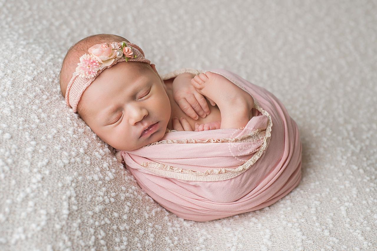 Newborn wrapping technique