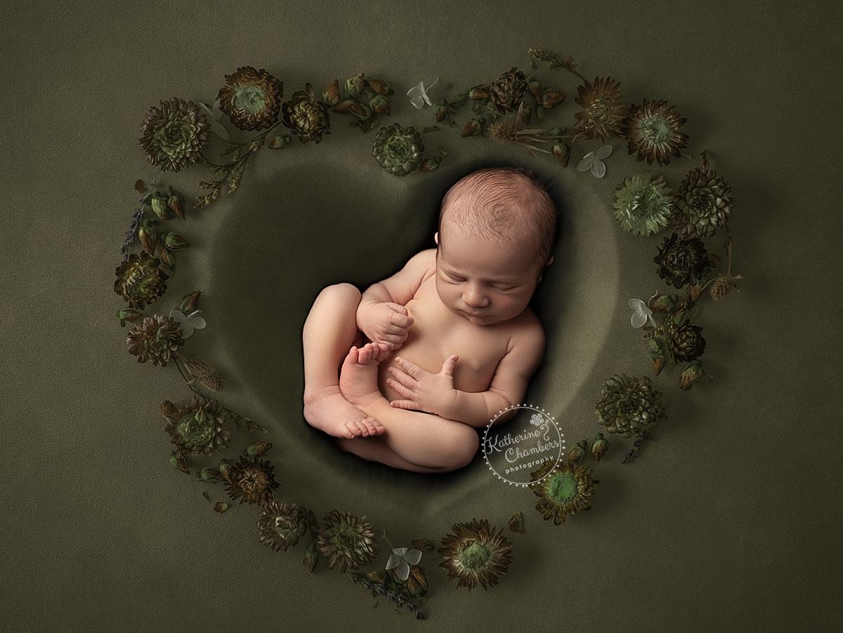 Newborn Heart Prop