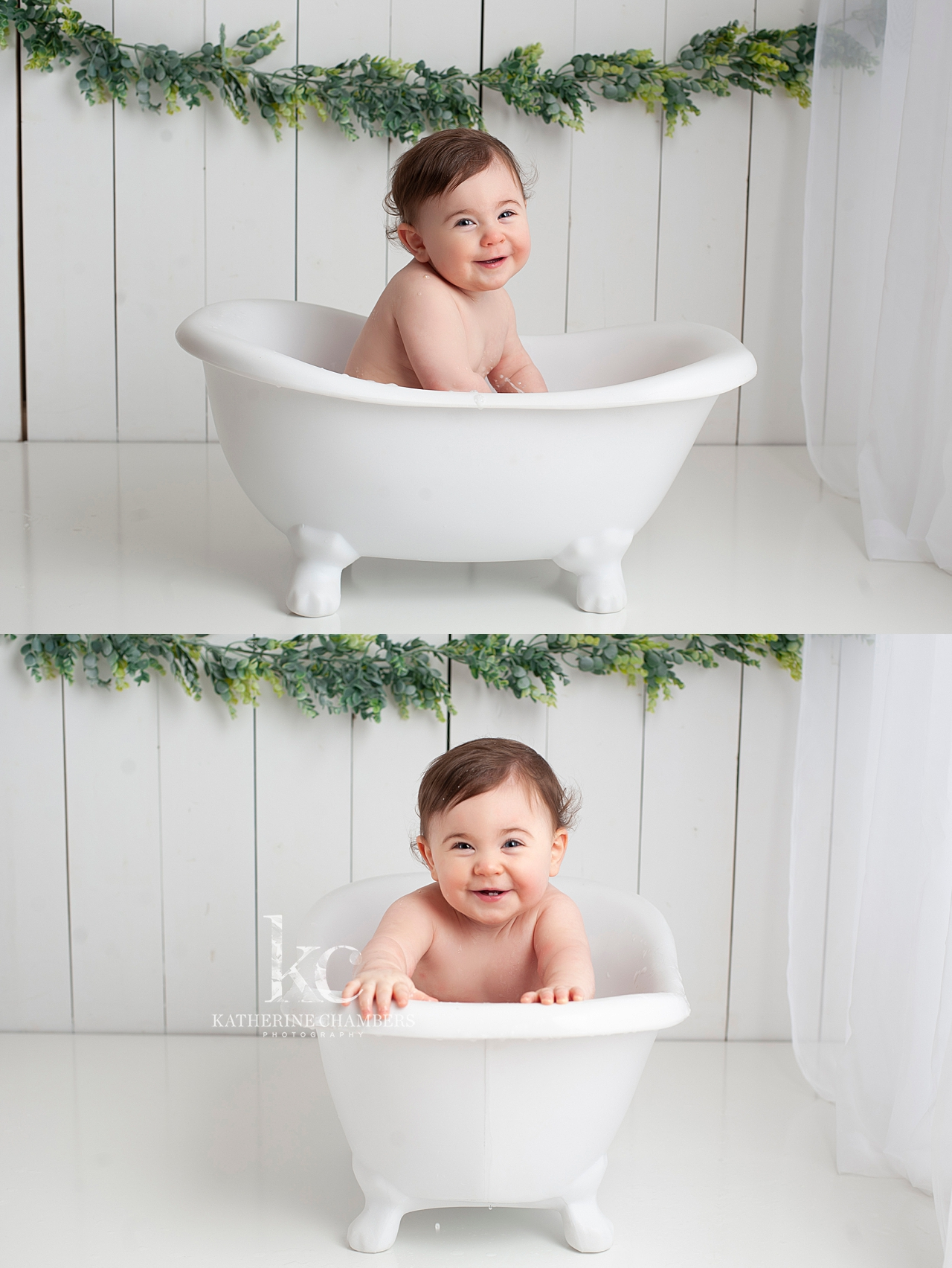 Bubble Bath Photo Session | Cleveland Baby Photographer