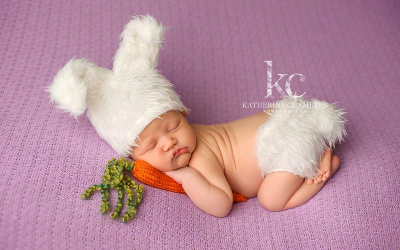 Newborn Easter Photo